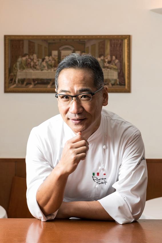 イタリアンの名店「ピアットスズキ」の鈴木弥平シェフ