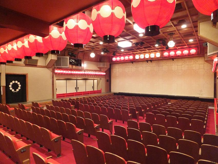 上七軒(かみしちけん)歌舞練場