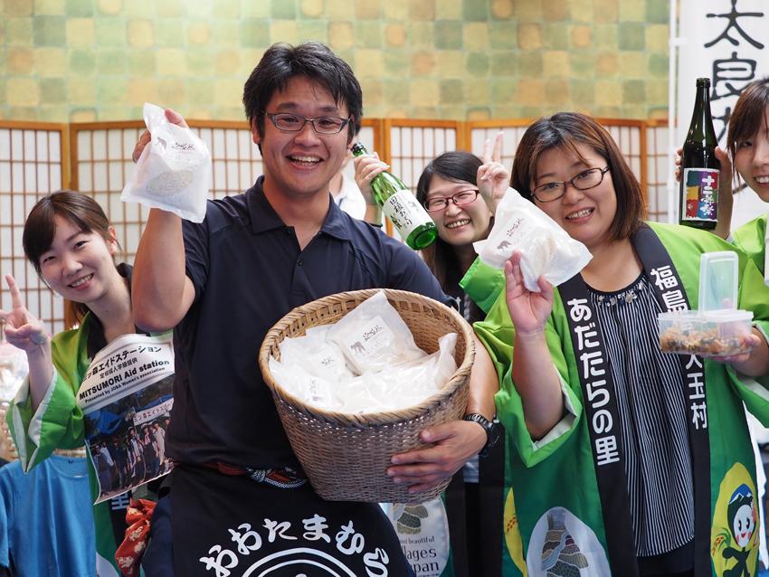 地元福島の方々が大勢ボランティアとして参加