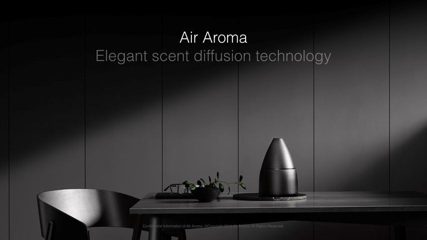 「香り」をAir Aroma Japanが担当