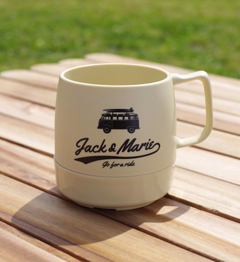 JACK&MARIE DINEX 8ozマグカップ:1,500円(税別)