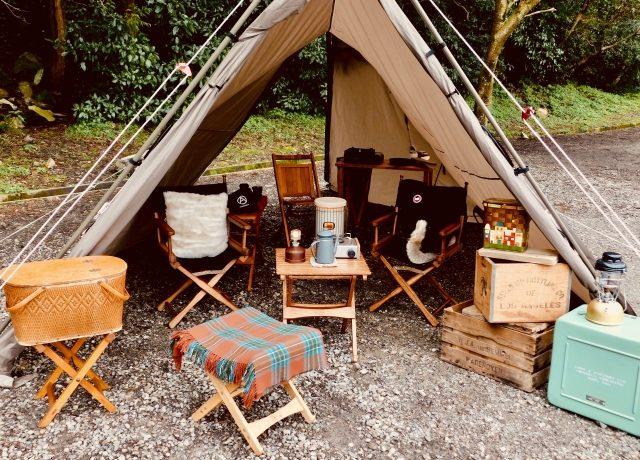 女子キャンプにオススメなチェアの画像
