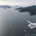 """サイクリストの聖地""""しまなみ海道""""を水陸両用機で空から巡ってみた"""