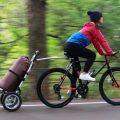 長尺物・重量物も運べる「モバイルサイクルトレーラー」発売! 2017年は、自転車でデイキャンプ・BBQがトレンドの予感!